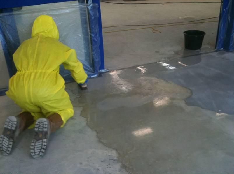 Decontaminating concrete is essential