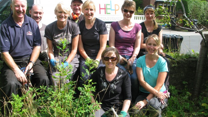 'Help at Home' offers assistance with many practical tasks, including gardening