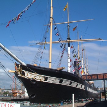 ss Great Britain, originally constructed in 1843 by Isambard Kingdom Brunel,