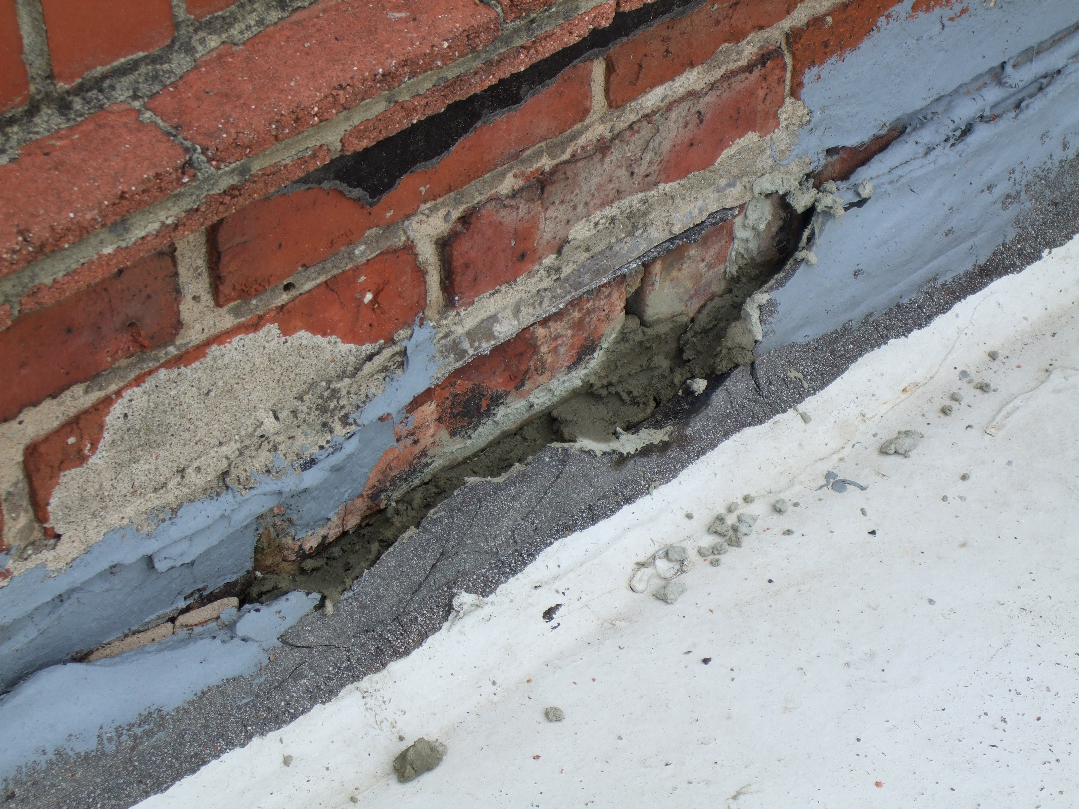 Flashings are key examples where dissimilar roofing materials can prove problematic