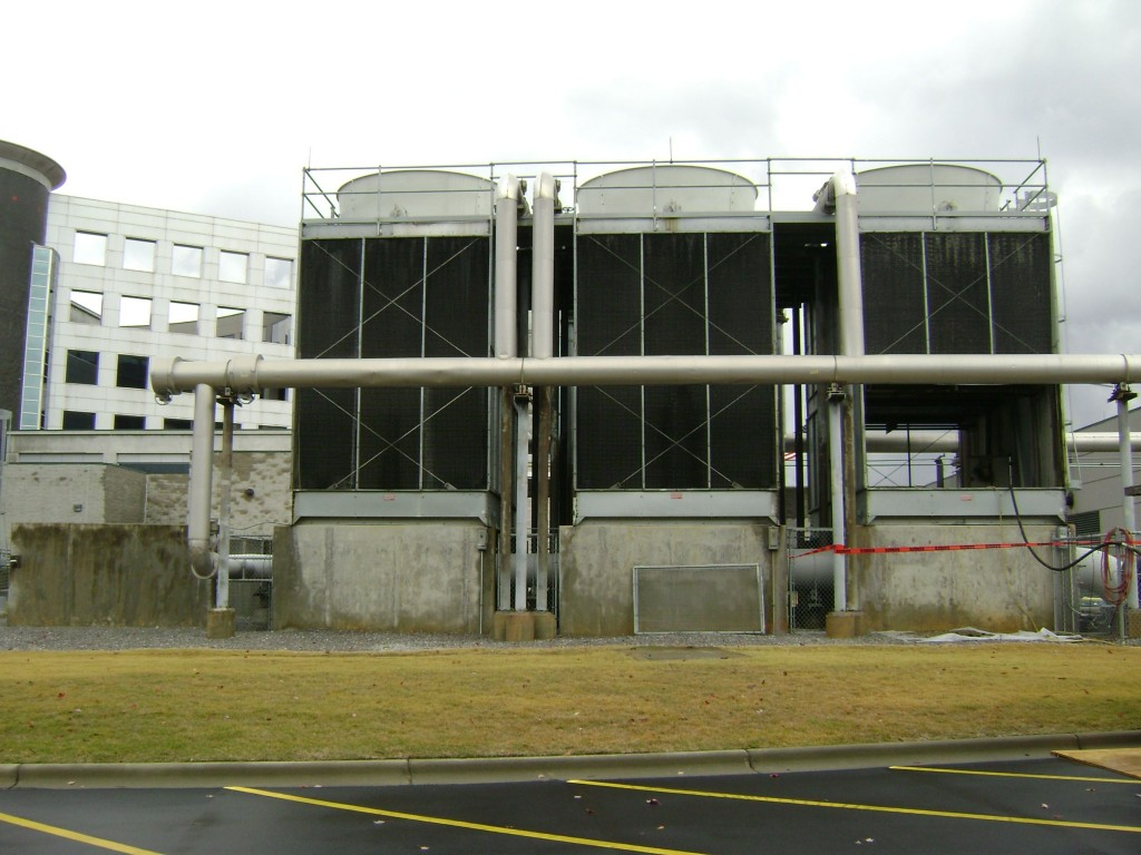 Cooling tower maintenance can be frequently neglected, leaving them in disrepair