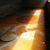 1. Corrosion and chemical attack can deteriorate cooling tower basins and sidewalls