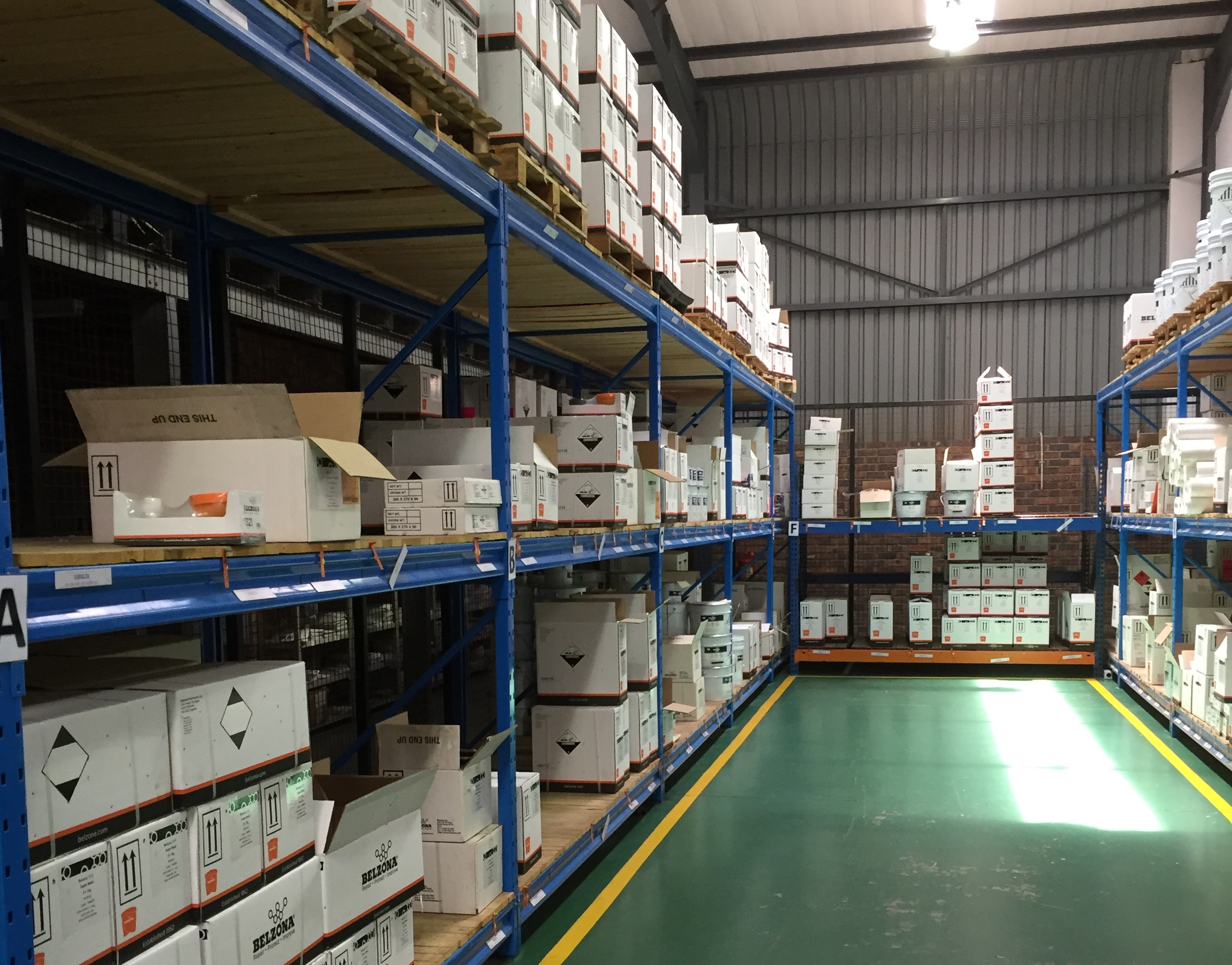Aesseal's new storage facility