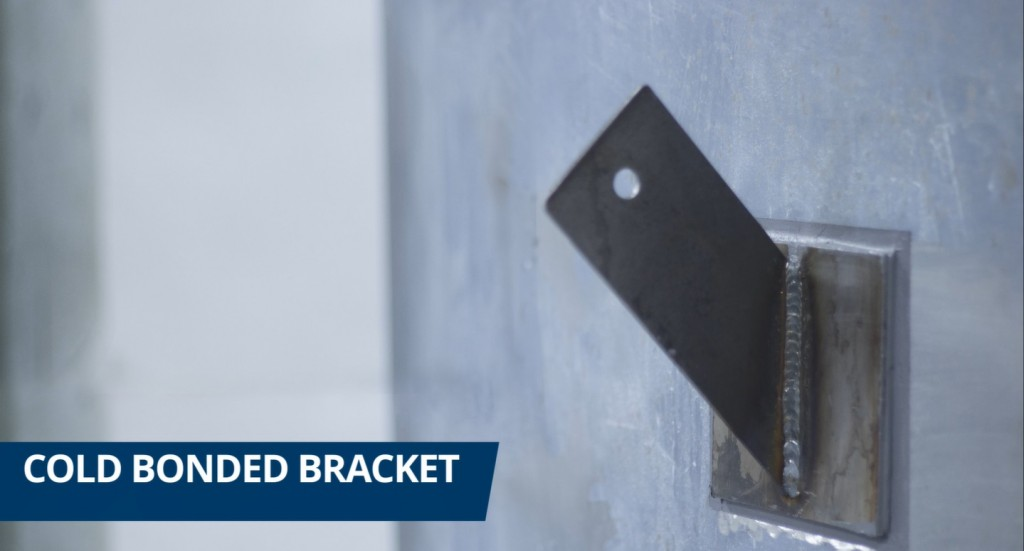cold bonded bracket