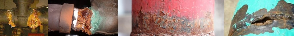 corroded weld