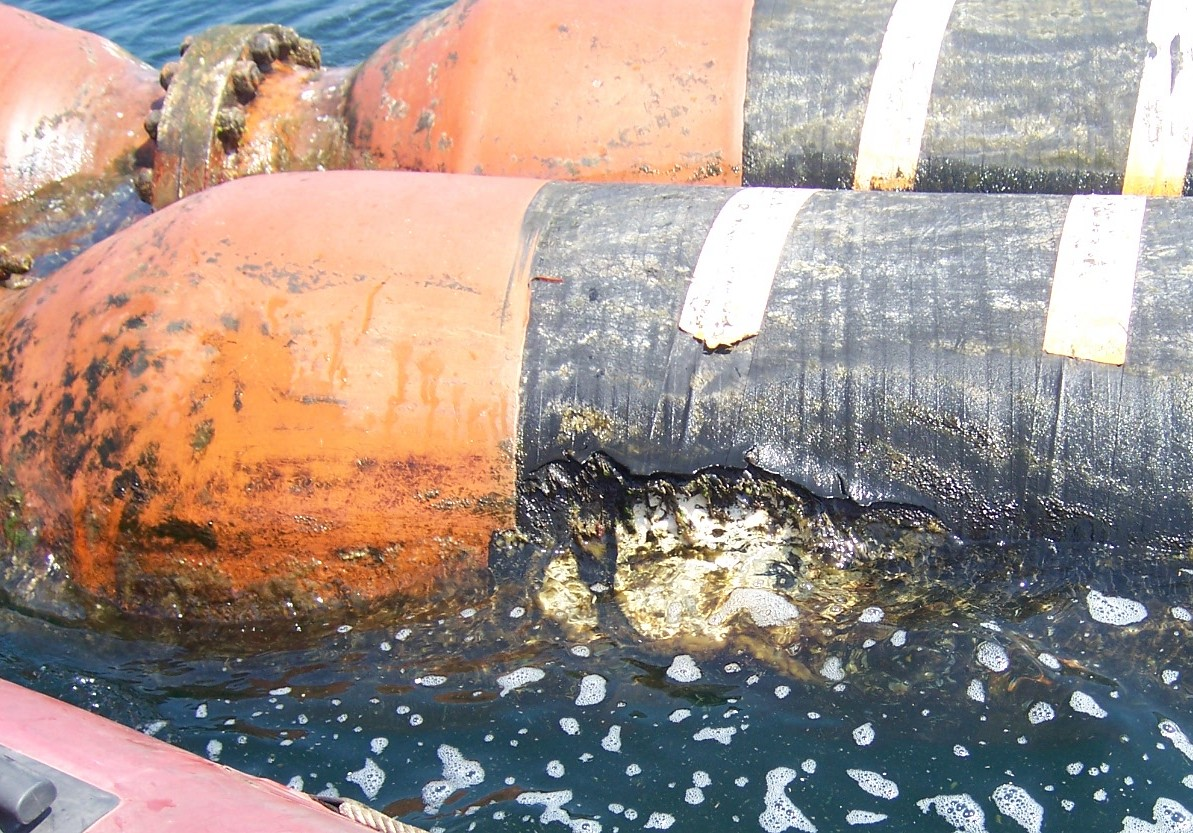 Floating Hose Damage 3