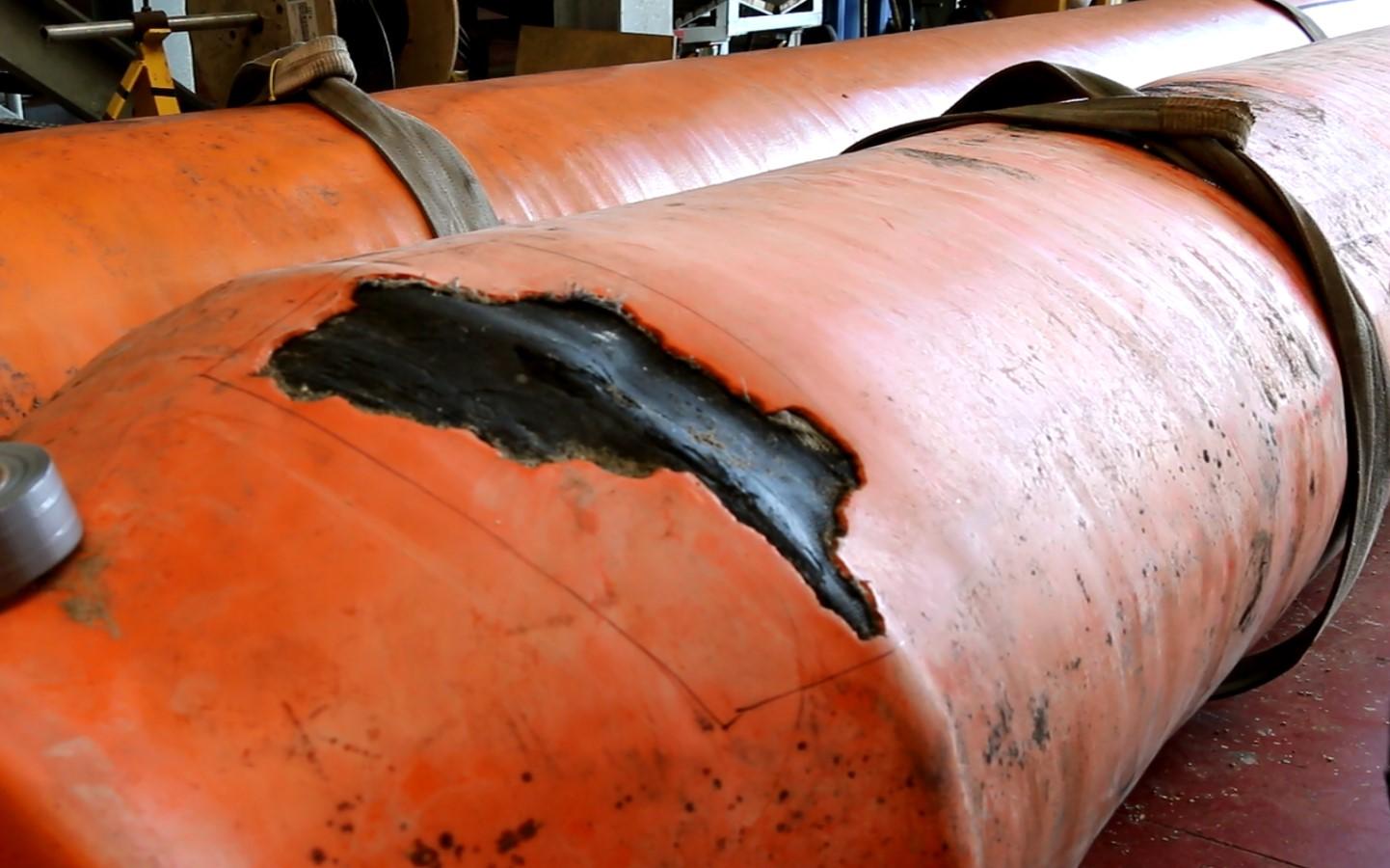 Floating Hose Damage 2