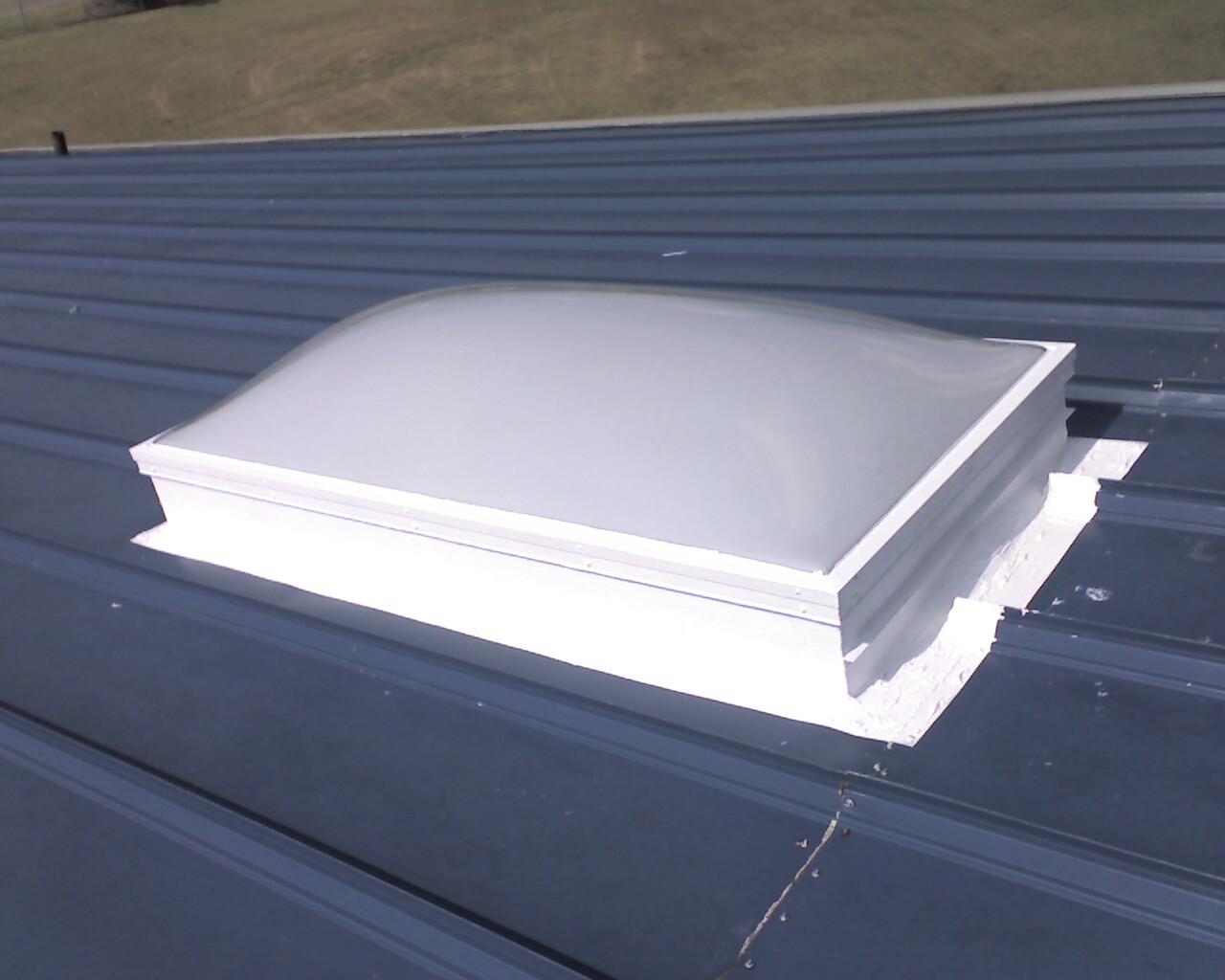 Airport hangar skylight repair - airport facilities maintenance