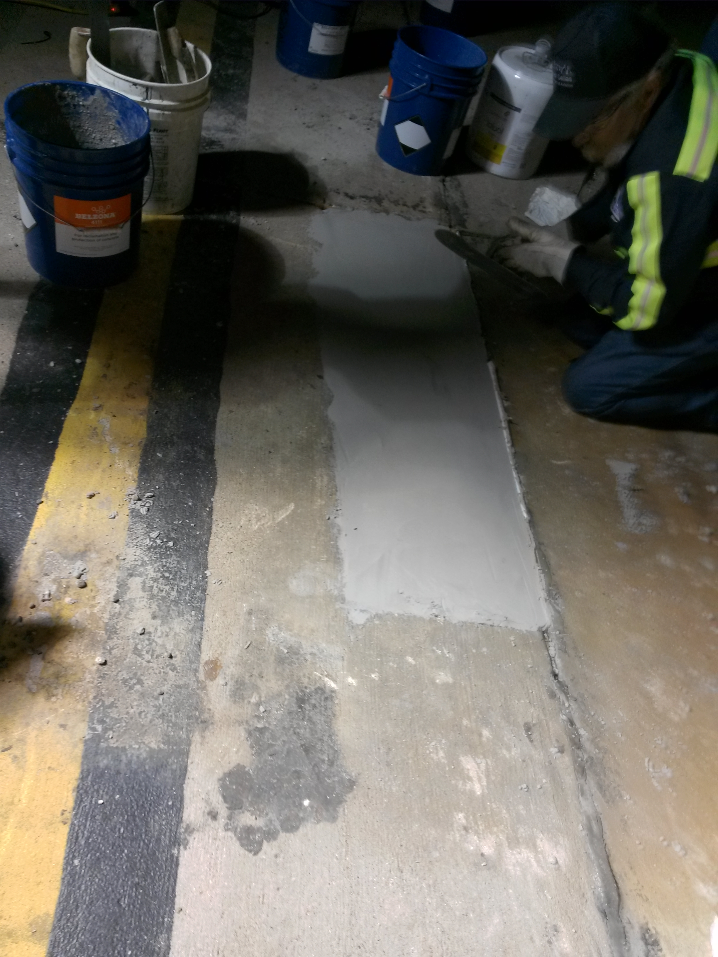 Airport runway concrete repair - airport facilities maintenance
